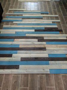 Inexpensive DIY Pallet Wood Wall Tutorial - Happy Healthings